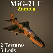 MIG21U ZAM 3d model