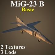 MIG23B Basic 3d model