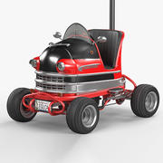 Carro legal para carros 3d model