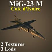 MIG23M KOT 3d model