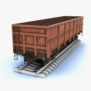 Wagon Open 3d model