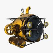 Submarino modelo 3d
