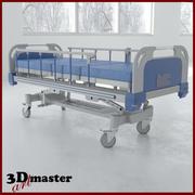 电动医疗床 3d model