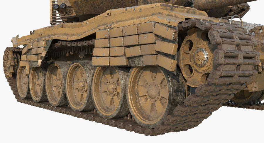 Tank T90 royalty-free 3d model - Preview no. 11