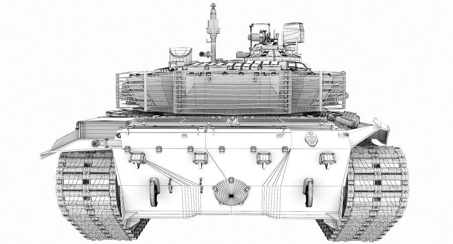 Tank T90 royalty-free 3d model - Preview no. 31