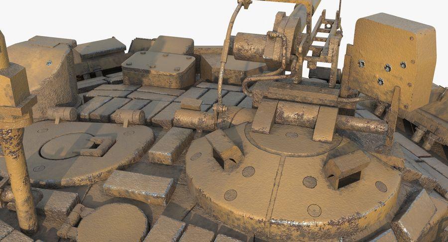 Tank T90 royalty-free 3d model - Preview no. 19