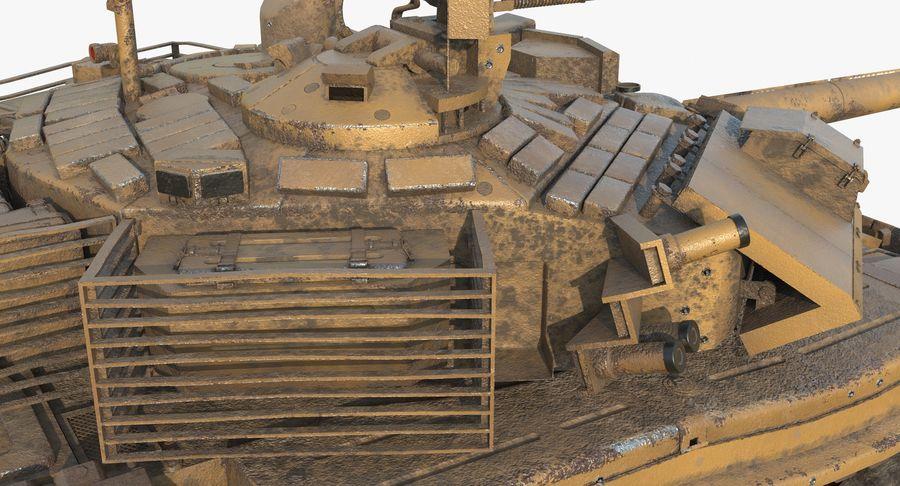 Tank T90 royalty-free 3d model - Preview no. 18