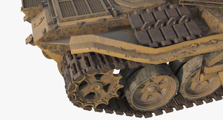 Tank T90 royalty-free 3d model - Preview no. 13