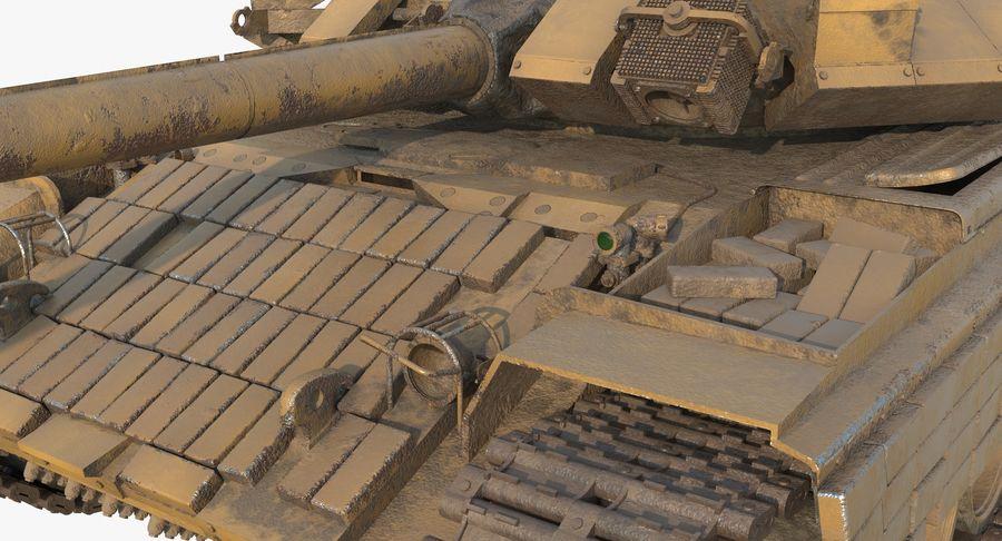 Tank T90 royalty-free 3d model - Preview no. 14