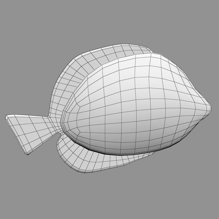 Aquarium Fish Collection Low Poly royalty-free 3d model - Preview no. 48