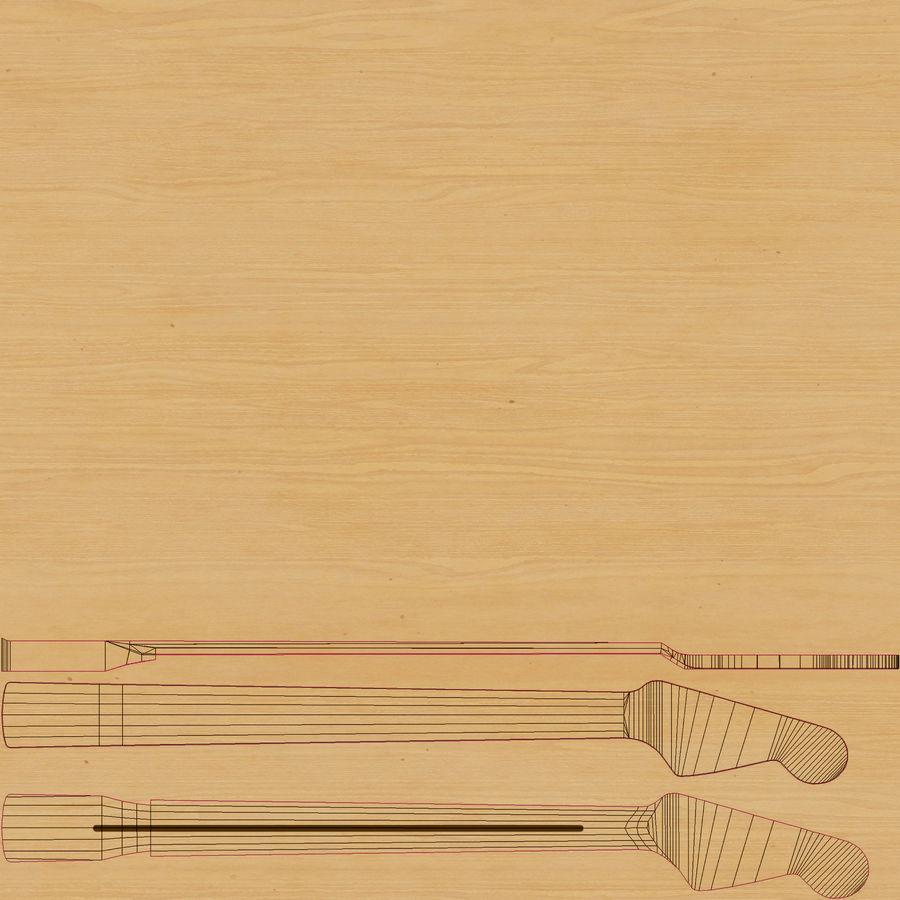 펜더 스트랫 기타 royalty-free 3d model - Preview no. 20