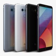 LG G6 tutto a colori 3d model