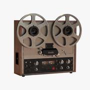 Reel-to-Reel Tape Recorder 3d model