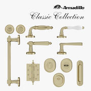 Classic Collection Accessories. Armadillo 3d model