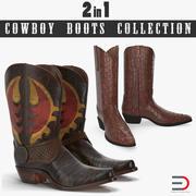 Cowboy Boots 3D模型收藏 3d model