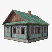 被遗弃的木房子5 3d model