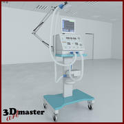송풍기 의료 기기 3d model