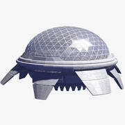 Space Station 15 3d model