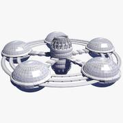 Space Station 20 3d model