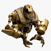 Big Robot Torso (Rigged) 3d model