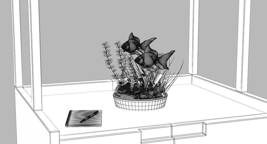 Gold Fish Aquarium Animated royalty-free 3d model - Preview no. 16