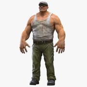 Gangster Man 3d model