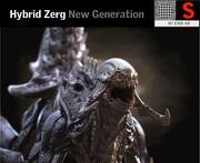 Criatura Híbrida Zerg HD modelo 3d