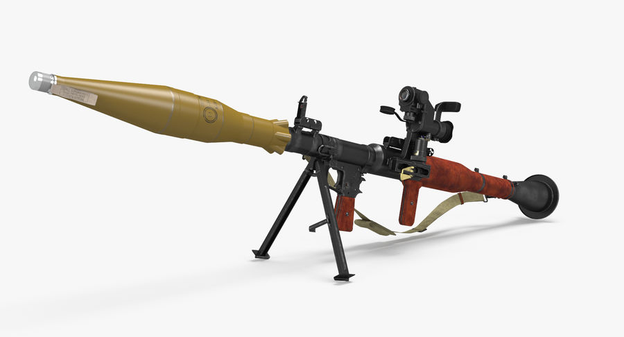 RPG-7 royalty-free 3d model - Preview no. 25