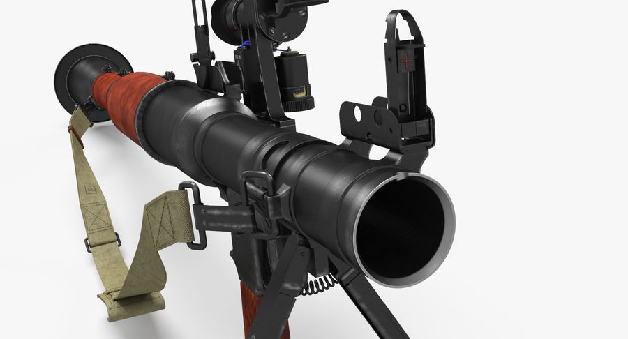 RPG-7 royalty-free 3d model - Preview no. 13