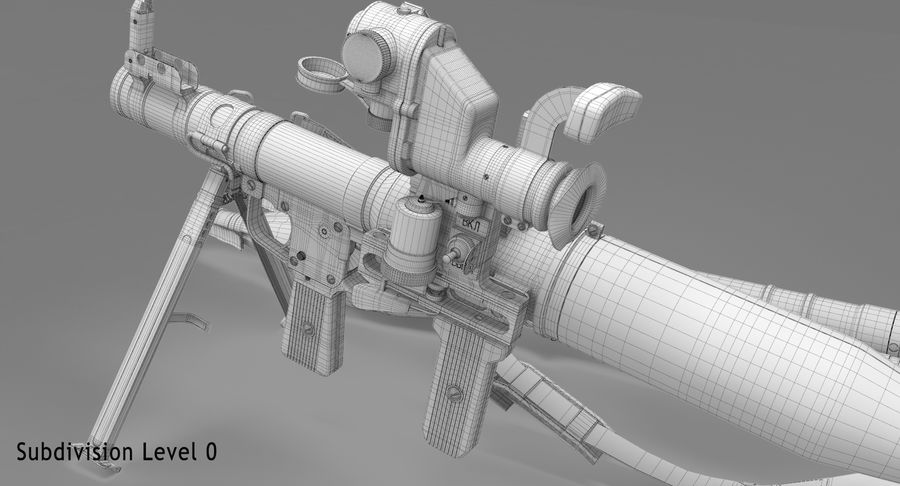 RPG-7 royalty-free 3d model - Preview no. 32