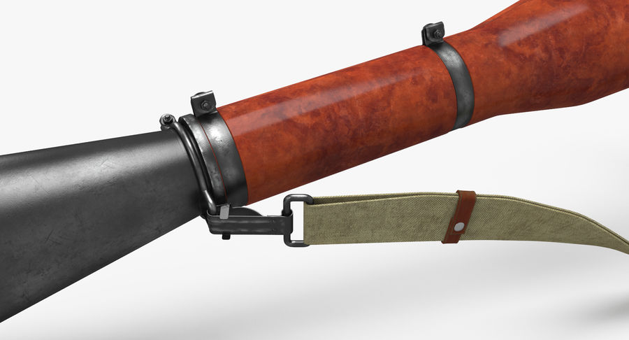 RPG-7 royalty-free 3d model - Preview no. 14