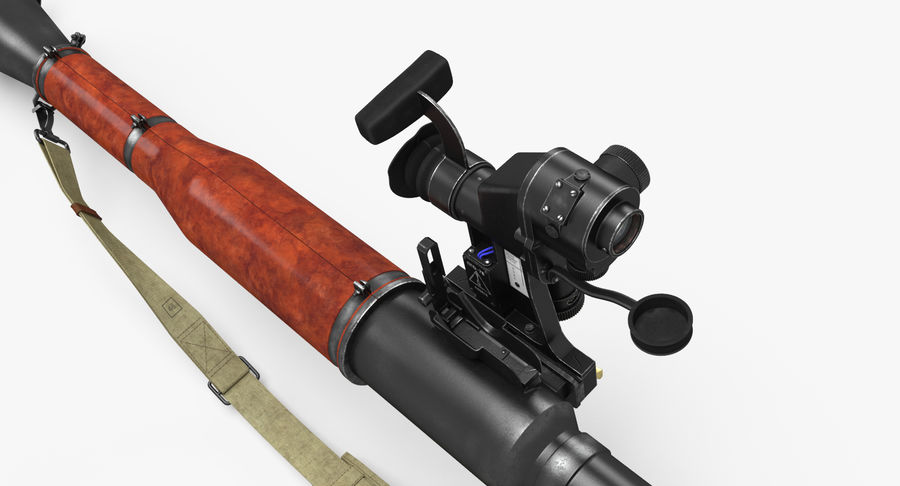 RPG-7 royalty-free 3d model - Preview no. 12