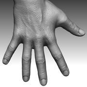 Main d'homme réaliste 3d model