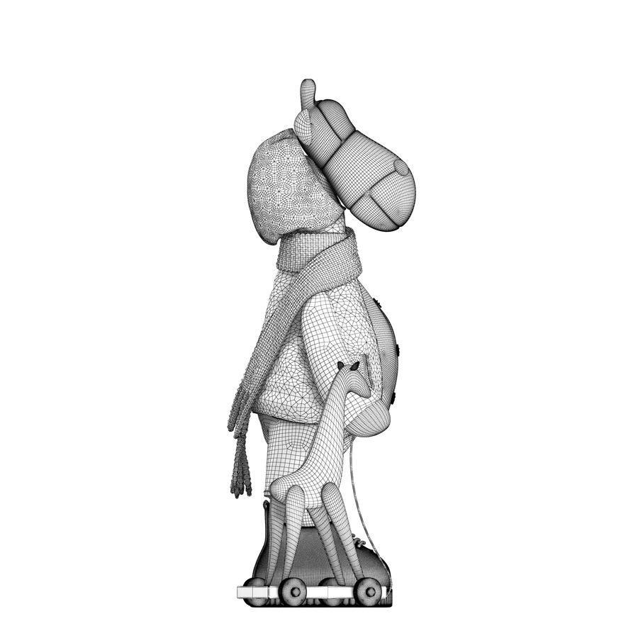 Giraffe Toy royalty-free 3d model - Preview no. 15