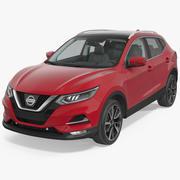 Nissan Qashqai 2017 3d model
