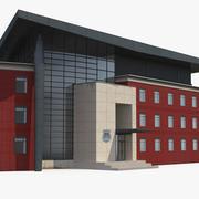 Alexandria Police Headquarters Building 3d model