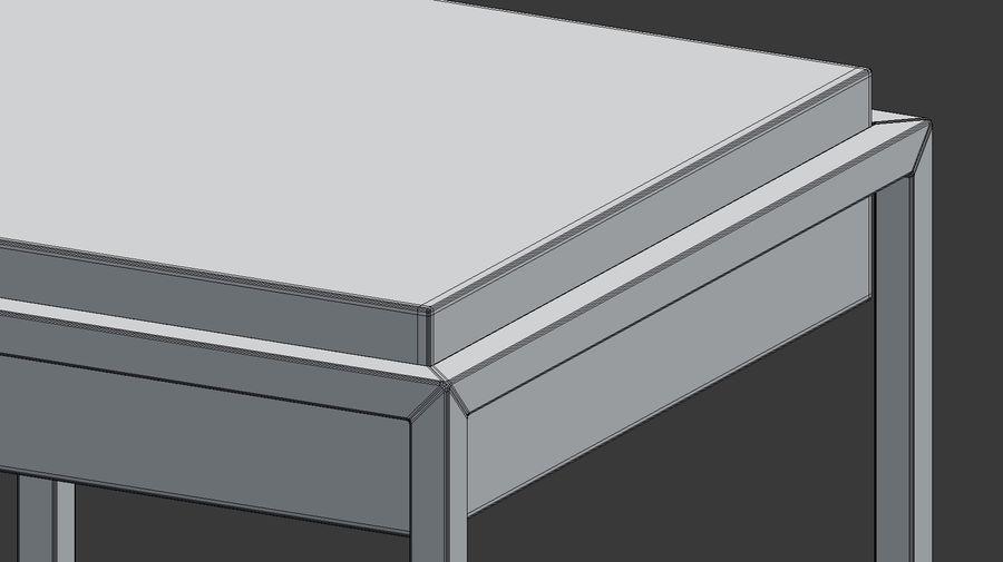 Nowoczesna szafka nocna royalty-free 3d model - Preview no. 7