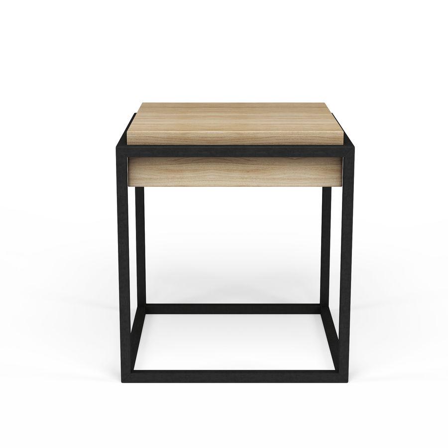 Nowoczesna szafka nocna royalty-free 3d model - Preview no. 2