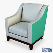 休闲椅301 3d model