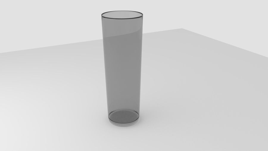 Alcohol glass collection royalty-free 3d model - Preview no. 8