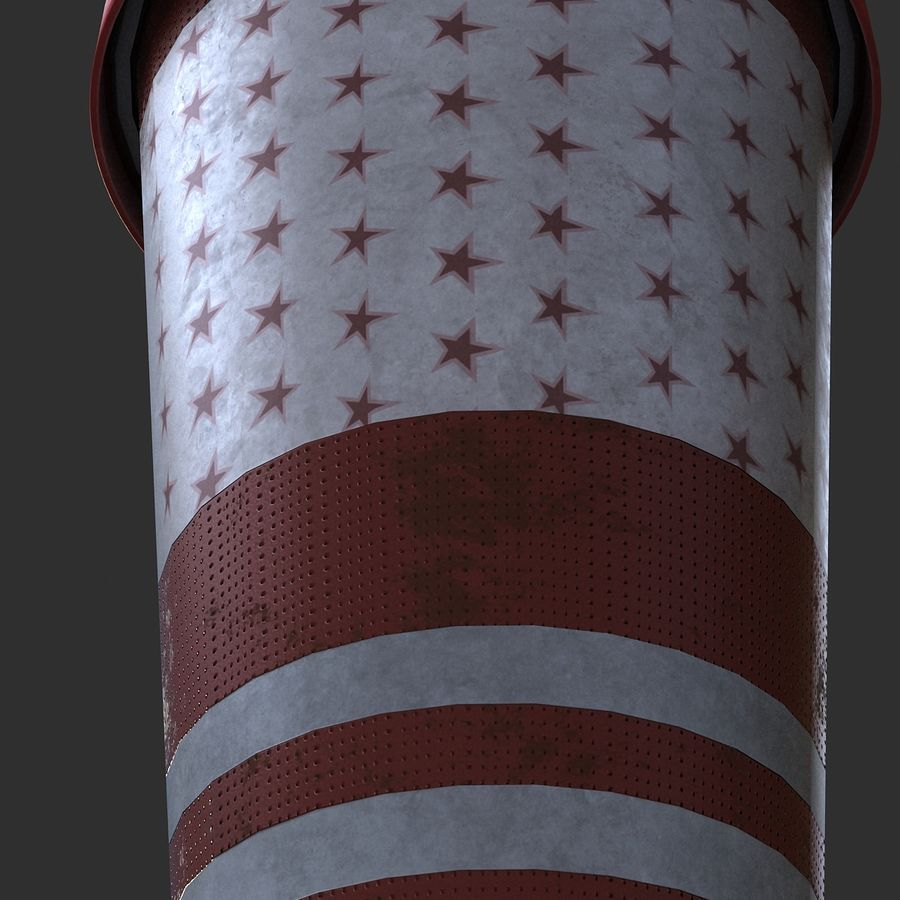 Plastic Drinking Cup royalty-free 3d model - Preview no. 9