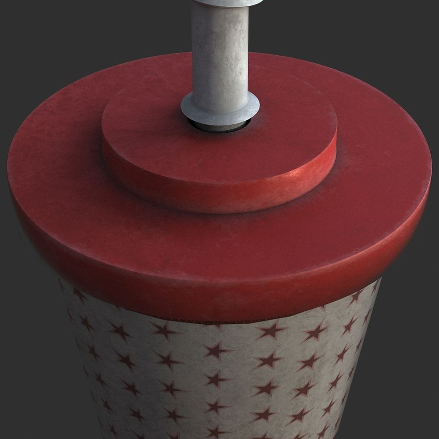 Plastic Drinking Cup royalty-free 3d model - Preview no. 7