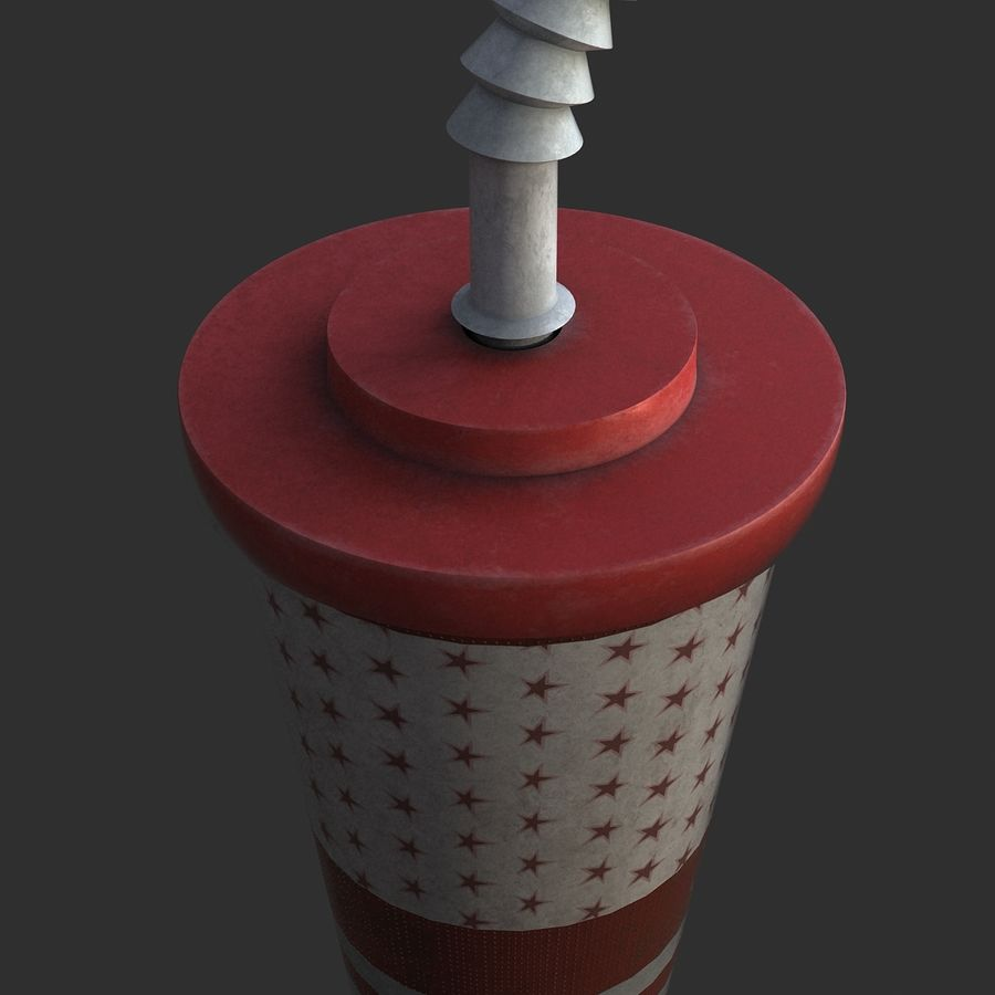 Plastic Drinking Cup royalty-free 3d model - Preview no. 6
