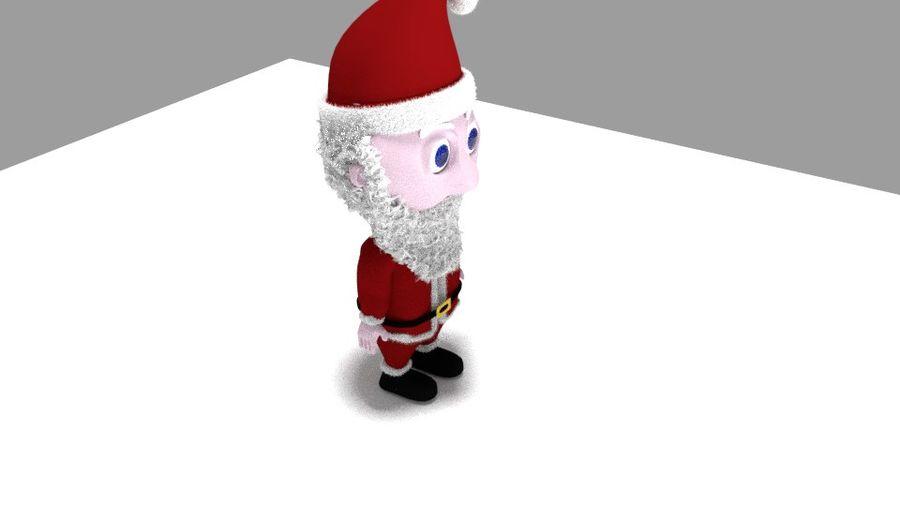 santa royalty-free 3d model - Preview no. 4