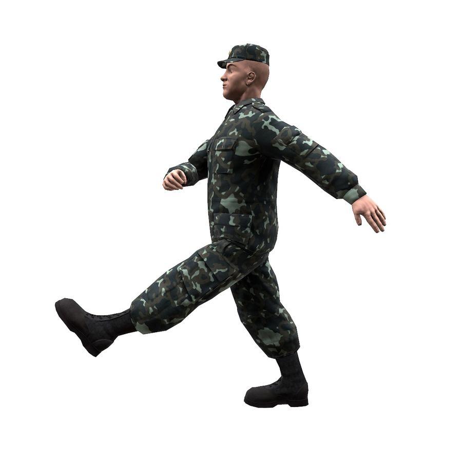 2014年ウクライナの兵士 royalty-free 3d model - Preview no. 5