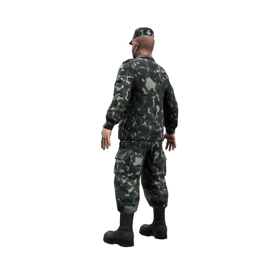 2014年ウクライナの兵士 royalty-free 3d model - Preview no. 2