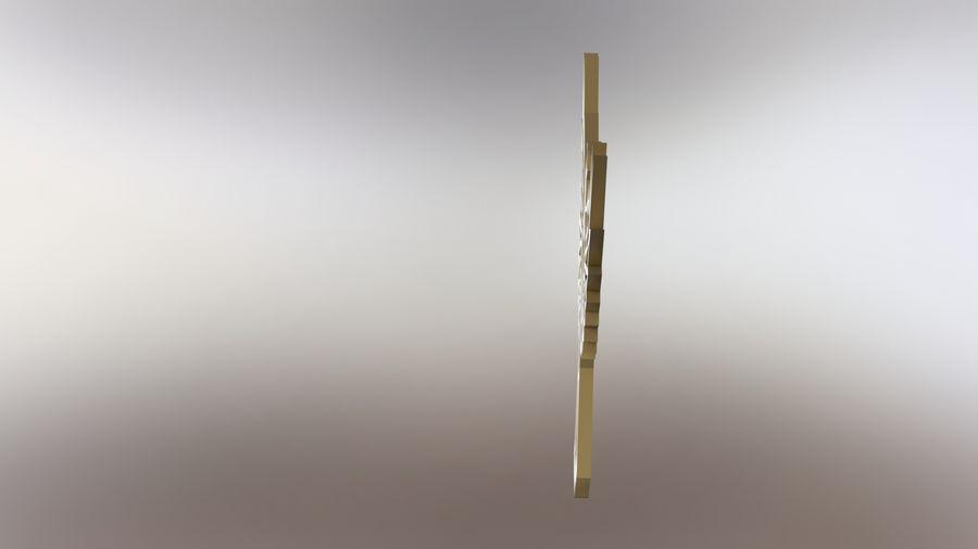 金鹰 royalty-free 3d model - Preview no. 7