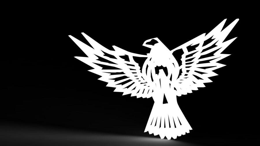 金鹰 royalty-free 3d model - Preview no. 15