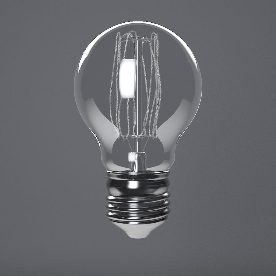 Прозрачная стеклянная колба royalty-free 3d model - Preview no. 2