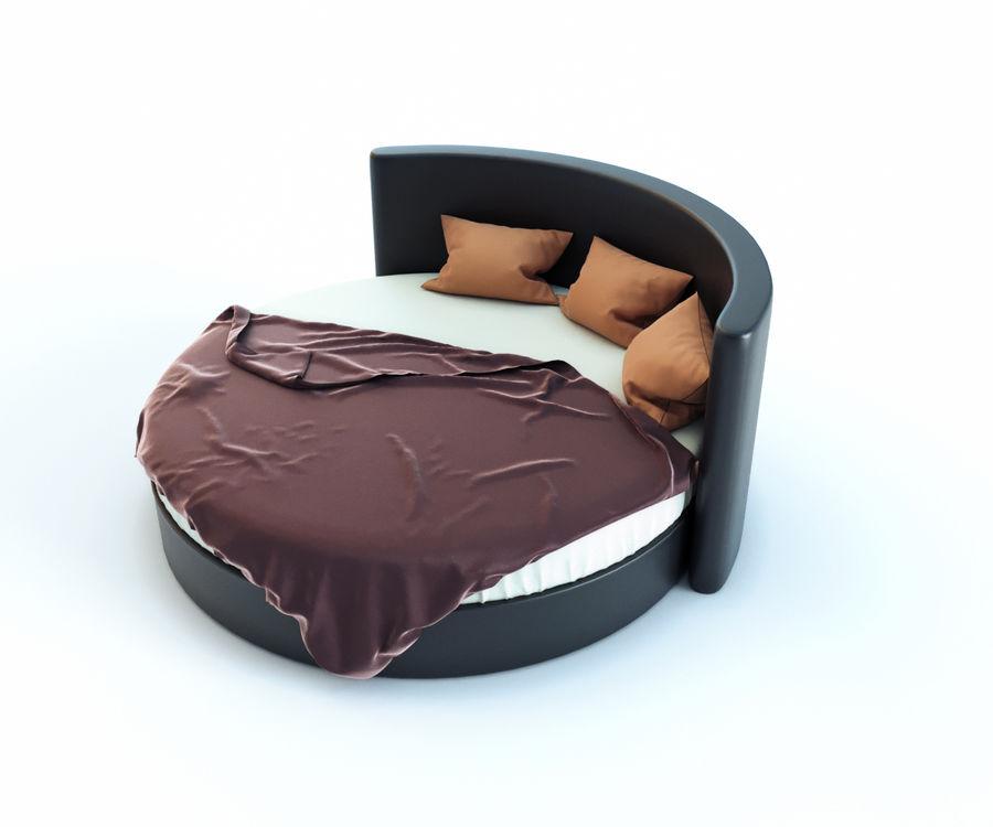 Säng för ett sovrum royalty-free 3d model - Preview no. 4